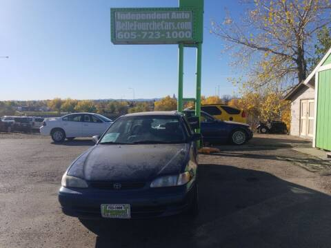 2000 Toyota Corolla for sale at Independent Auto in Belle Fourche SD