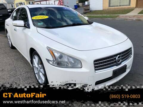 2009 Nissan Maxima for sale at CT AutoFair in West Hartford CT