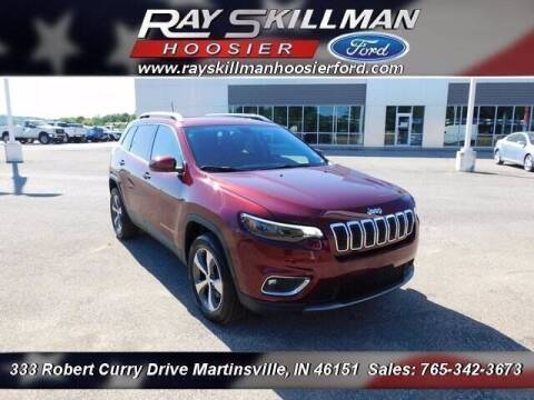 2020 Jeep Cherokee for sale at Ray Skillman Hoosier Ford in Martinsville IN