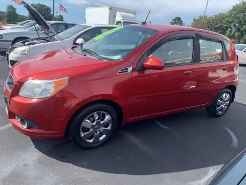 2011 Chevrolet Aveo for sale at Doug White's Auto Wholesale Mart in Newton NC
