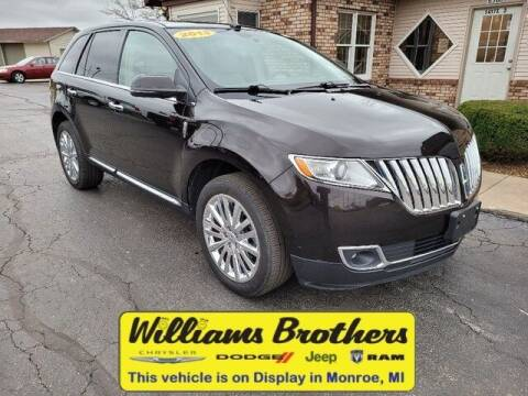 2013 Lincoln MKX for sale at Williams Brothers - Pre-Owned Monroe in Monroe MI