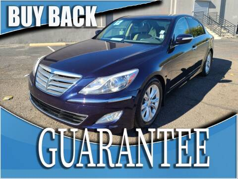 2012 Hyundai Genesis for sale at Reliable Auto Sales in Las Vegas NV