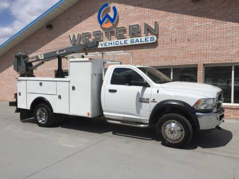 2014 Dodge 5500HD for sale at Western Specialty Vehicle Sales in Braidwood IL