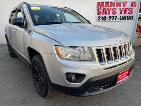 2013 Jeep Compass for sale at Manny G Motors in San Antonio TX
