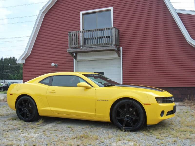 2013 Chevrolet Camaro for sale at Red Barn Motors, Inc. in Ludlow MA