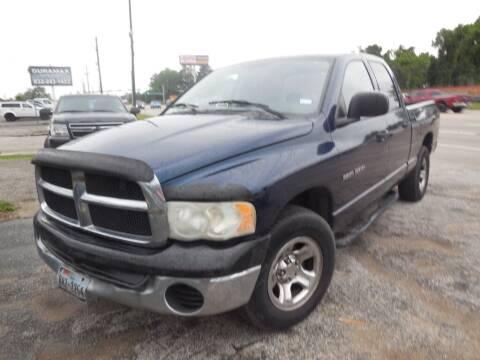 2004 Dodge Ram Pickup 1500 for sale at SCOTT HARRISON MOTOR CO in Houston TX