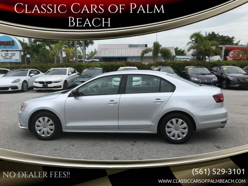 2016 Volkswagen Jetta for sale at Classic Cars of Palm Beach in Jupiter FL