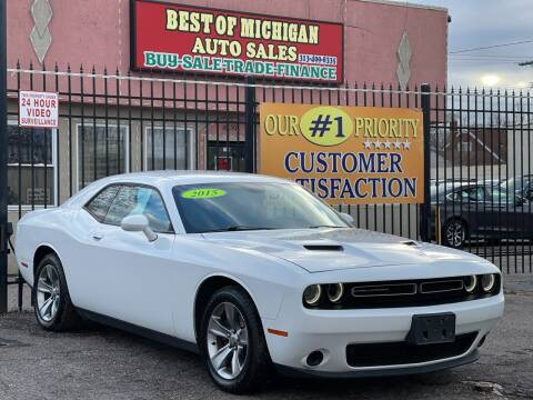 2015 Dodge Challenger for sale at Best of Michigan Auto Sales in Detroit MI