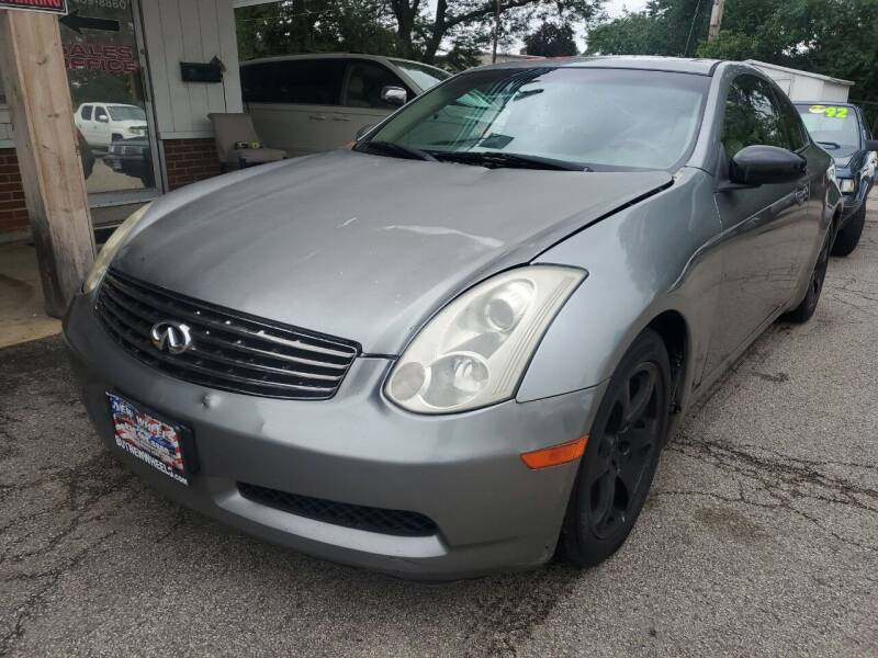 2003 Infiniti G35 for sale at New Wheels in Glendale Heights IL
