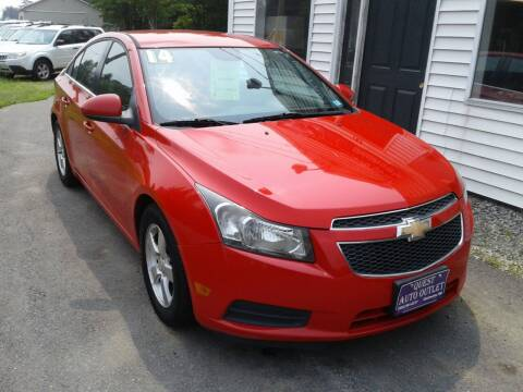 2014 Chevrolet Cruze for sale at Quest Auto Outlet in Chichester NH