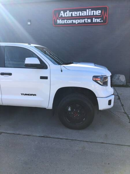 2019 Toyota Tundra for sale at Adrenaline Motorsports Inc. in Saginaw MI