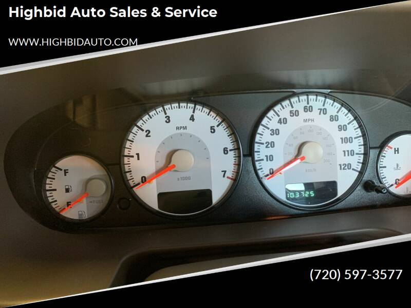 2004 Dodge Stratus for sale at Highbid Auto Sales & Service in Arvada CO