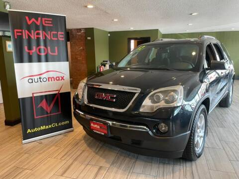 2012 GMC Acadia for sale at AutoMax in West Hartford CT