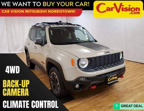 2015 Jeep Renegade for sale at Car Vision Mitsubishi Norristown in Trooper PA