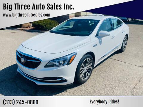 2017 Buick LaCrosse for sale at Big Three Auto Sales Inc. in Detroit MI