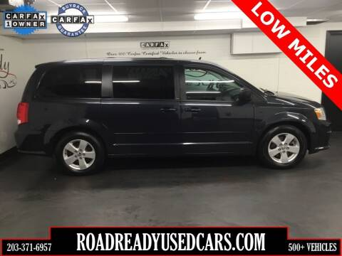 2013 Dodge Grand Caravan for sale at Road Ready Used Cars in Ansonia CT