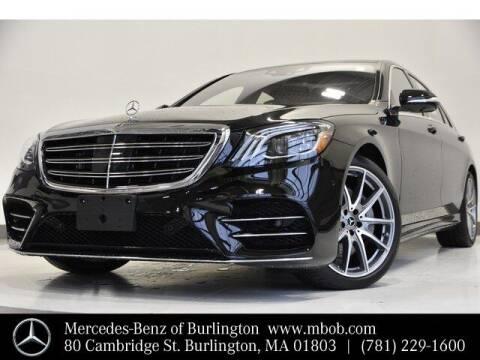 2020 Mercedes-Benz S-Class for sale at Mercedes Benz of Burlington in Burlington MA