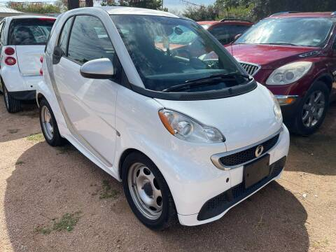 2015 Smart fortwo for sale at S & J Auto Group in San Antonio TX