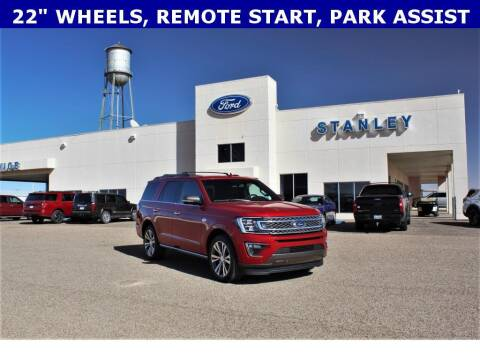 2020 Ford Expedition for sale at STANLEY FORD ANDREWS in Andrews TX