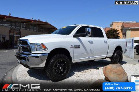 2016 RAM Ram Pickup 2500 for sale at Cali Motor Group in Gilroy CA