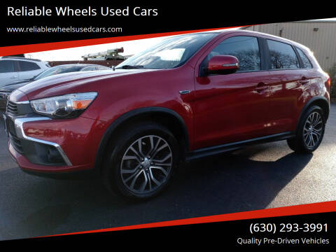 2017 Mitsubishi Outlander Sport for sale at Reliable Wheels Used Cars in West Chicago IL