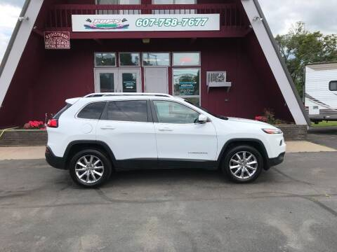 2014 Jeep Cherokee for sale at Pop's Automotive in Homer NY