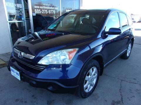 2007 Honda CR-V for sale at World Wide Automotive in Sioux Falls SD