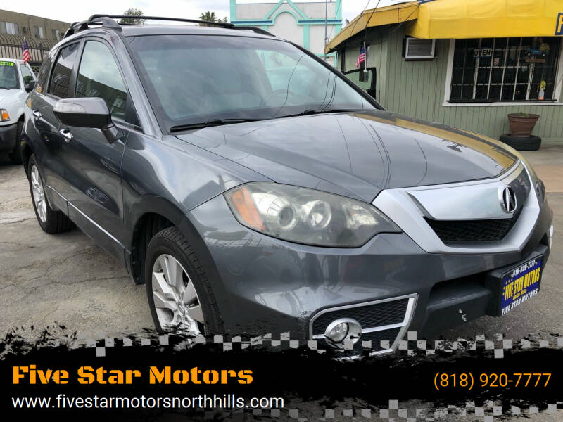 2012 Acura RDX for sale at Five Star Motors in North Hills CA