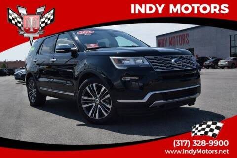 2018 Ford Explorer for sale at Indy Motors Inc in Indianapolis IN