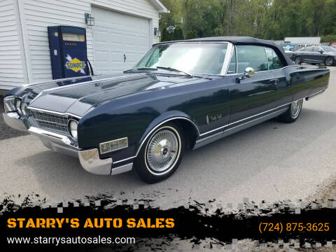 1966 Oldsmobile Ninety-Eight for sale at STARRY'S AUTO SALES in New Alexandria PA