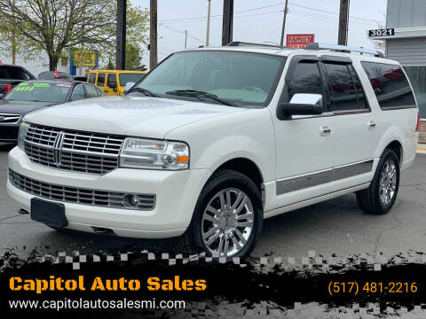 2008 Lincoln Navigator L for sale at Capitol Auto Sales in Lansing MI
