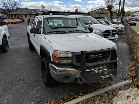 2004 GMC Sierra 2500HD for sale at Silverline Auto Boise in Meridian ID