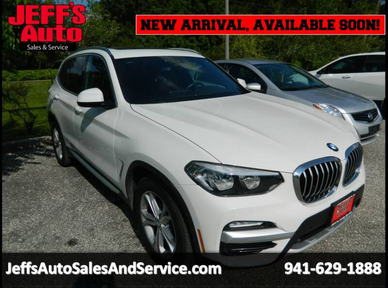 2019 BMW X3 for sale at Jeff's Auto Sales & Service in Port Charlotte FL