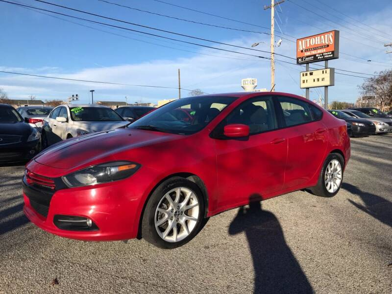 2013 Dodge Dart for sale at Autohaus of Greensboro in Greensboro NC