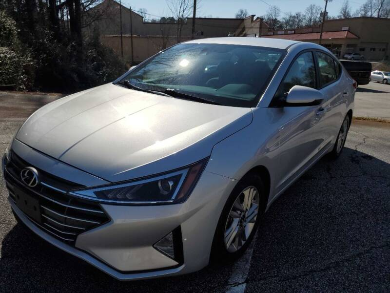 2020 Hyundai Elantra for sale at THE TRAIN AUTO SALES & LEASING in Mauldin SC