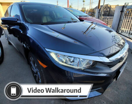 2018 Honda Civic for sale at ZOOM CARS LLC in Sylmar CA