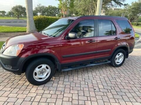 2002 Honda CR-V for sale at World Champions Auto Inc in Cape Coral FL