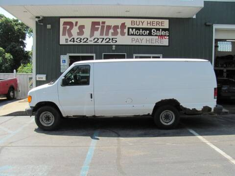 2007 Ford E-Series Cargo for sale at R's First Motor Sales Inc in Cambridge OH