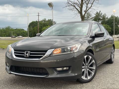 2014 Honda Accord for sale at MAGIC AUTO SALES in Little Ferry NJ