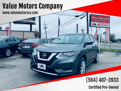 2018 Nissan Rogue for sale at Value Motors Company in Marrero LA