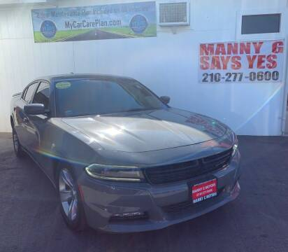 2017 Dodge Charger for sale at Manny G Motors in San Antonio TX