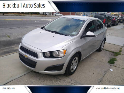 2014 Chevrolet Sonic for sale at Blackbull Auto Sales in Ozone Park NY