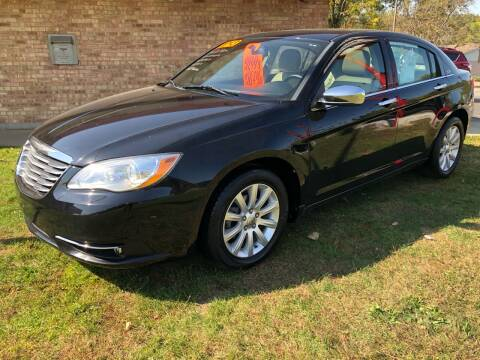 2013 Chrysler 200 for sale at Murdock Used Cars in Niles MI