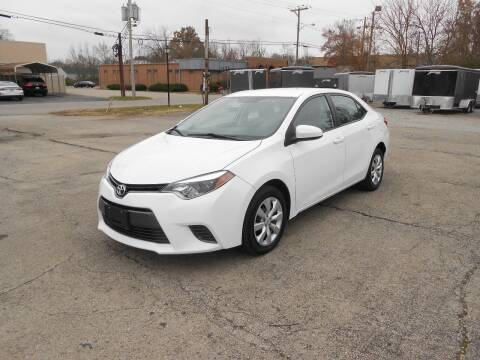 2016 Toyota Corolla for sale at Jerry Moody Auto Mart in Jeffersontown KY