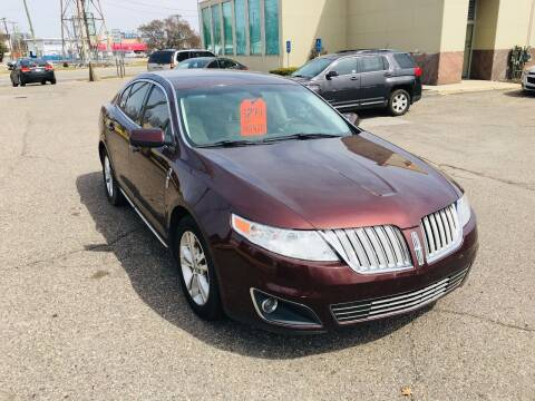 2009 Lincoln MKS for sale at Big Three Auto Sales Inc. in Detroit MI