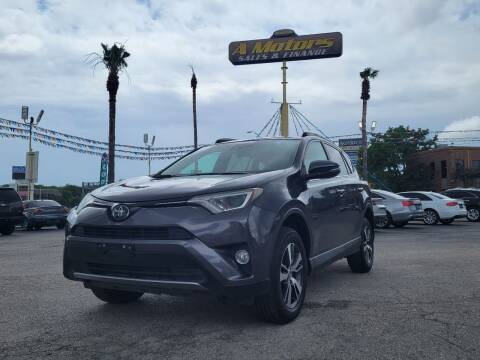 2017 Toyota RAV4 for sale at A MOTORS SALES AND FINANCE in San Antonio TX