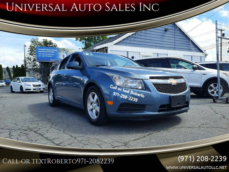 2012 Chevrolet Cruze for sale at Universal Auto Sales Inc in Salem OR
