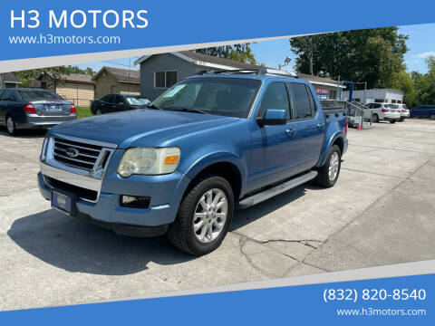 2009 Ford Explorer Sport Trac for sale at H3 MOTORS in Dickinson TX