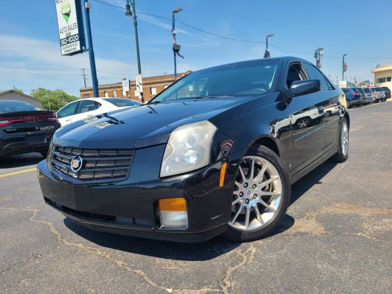 2007 Cadillac CTS for sale at Rite Track Auto Sales in Detroit MI