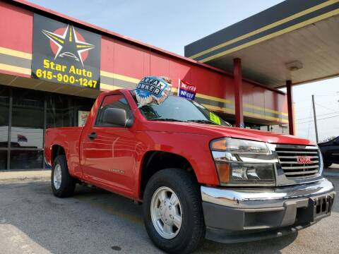 2005 GMC Canyon for sale at Star Auto Inc. in Murfreesboro TN